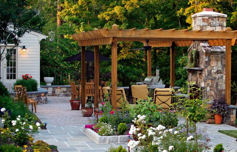 Outdoor Living Spaces Gallery outdoor living spaces | before & after driveways outdoor living