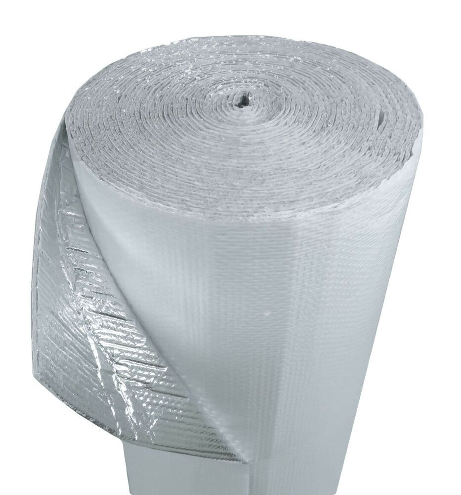 Details About White Double Bubble Concrete Slab Reflective Insulation 500 Sf 48 In By 125 Ft Reflective Foil Insulation Reflective Insulation Foil Insulation