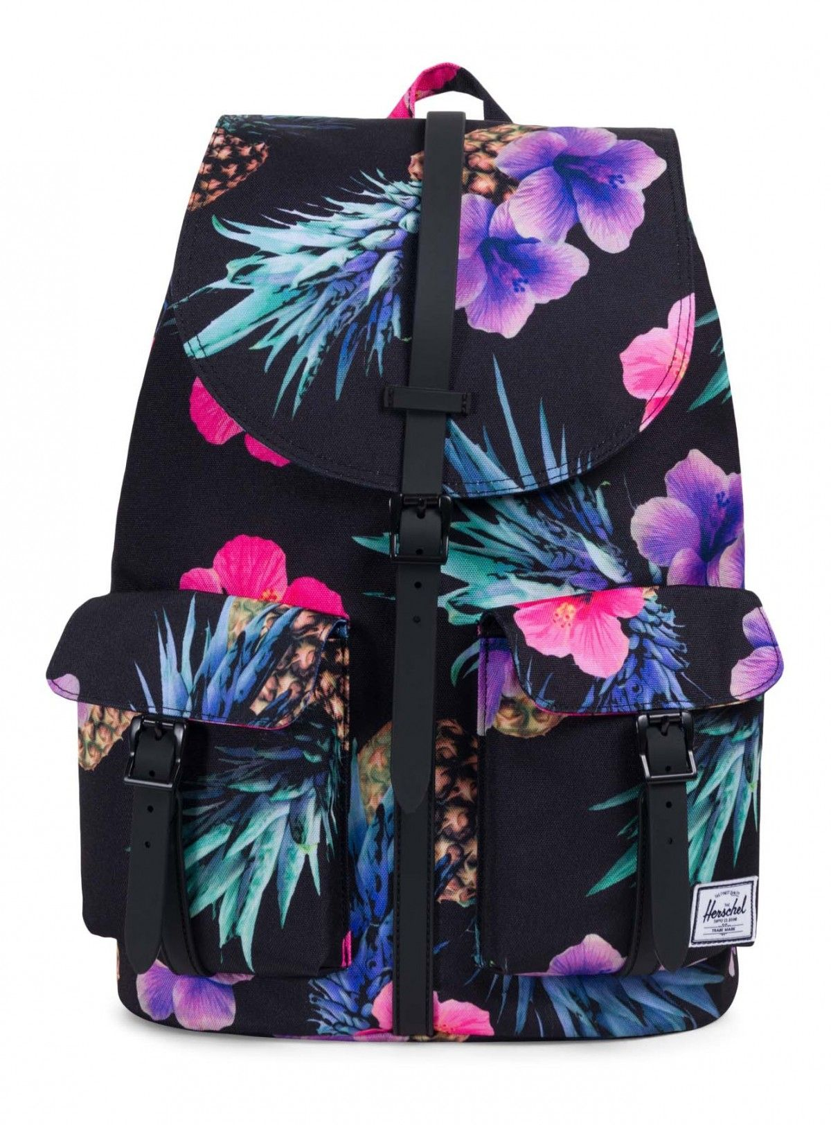 9975a803df8 Herschel Dawson Backpack Poly Black Pineapple Black