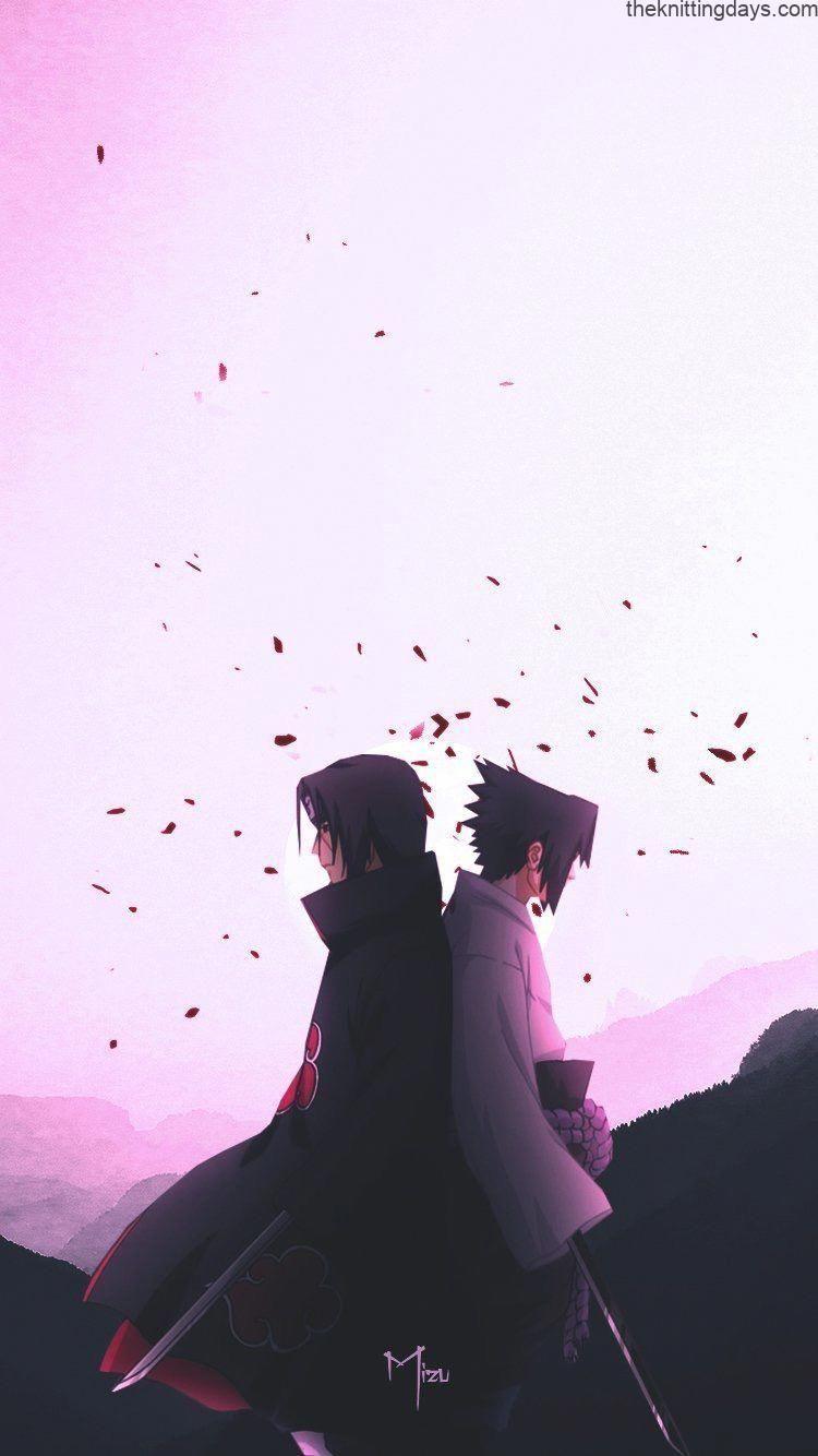 Itachi Uchiha And Sasuke Uchiha Naruto Shippuden In 2020 Naruto And Sasuke Wallpaper Naruto Shippuden Sasuke Itachi Uchiha