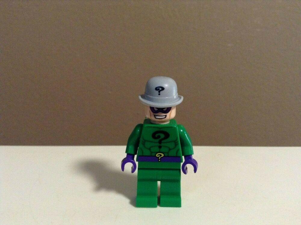 LEGO MINIFIGURE RIDDLER BATMAN VILLAIN DC The Riddler Mini