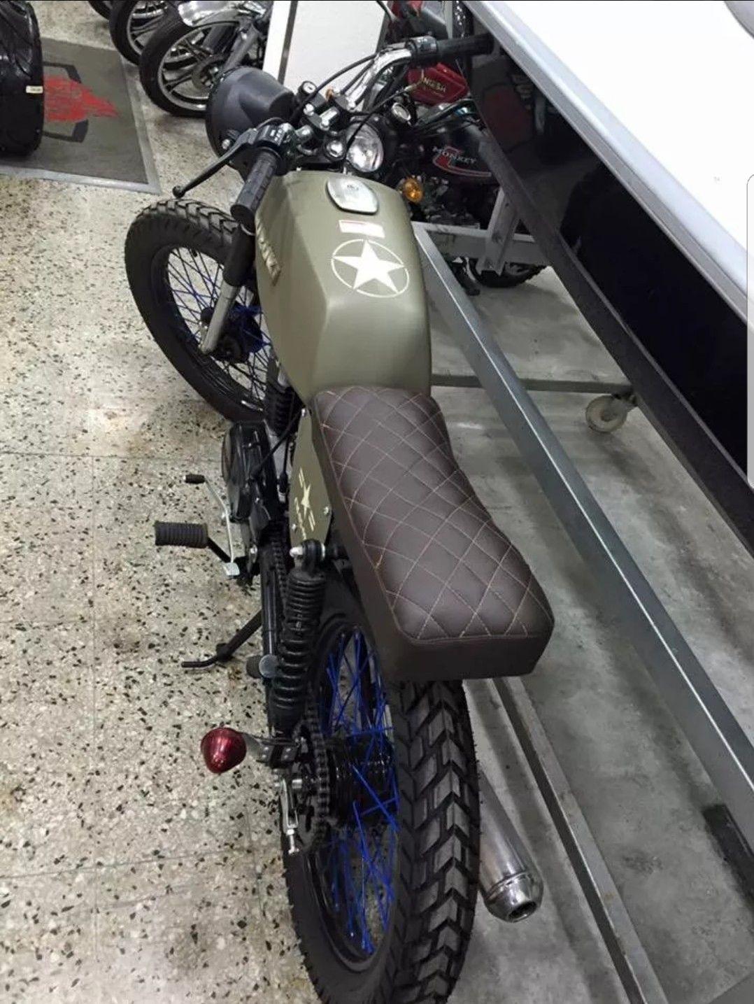 By Photo Congress || Suzuki Ax100 Cafe Racer
