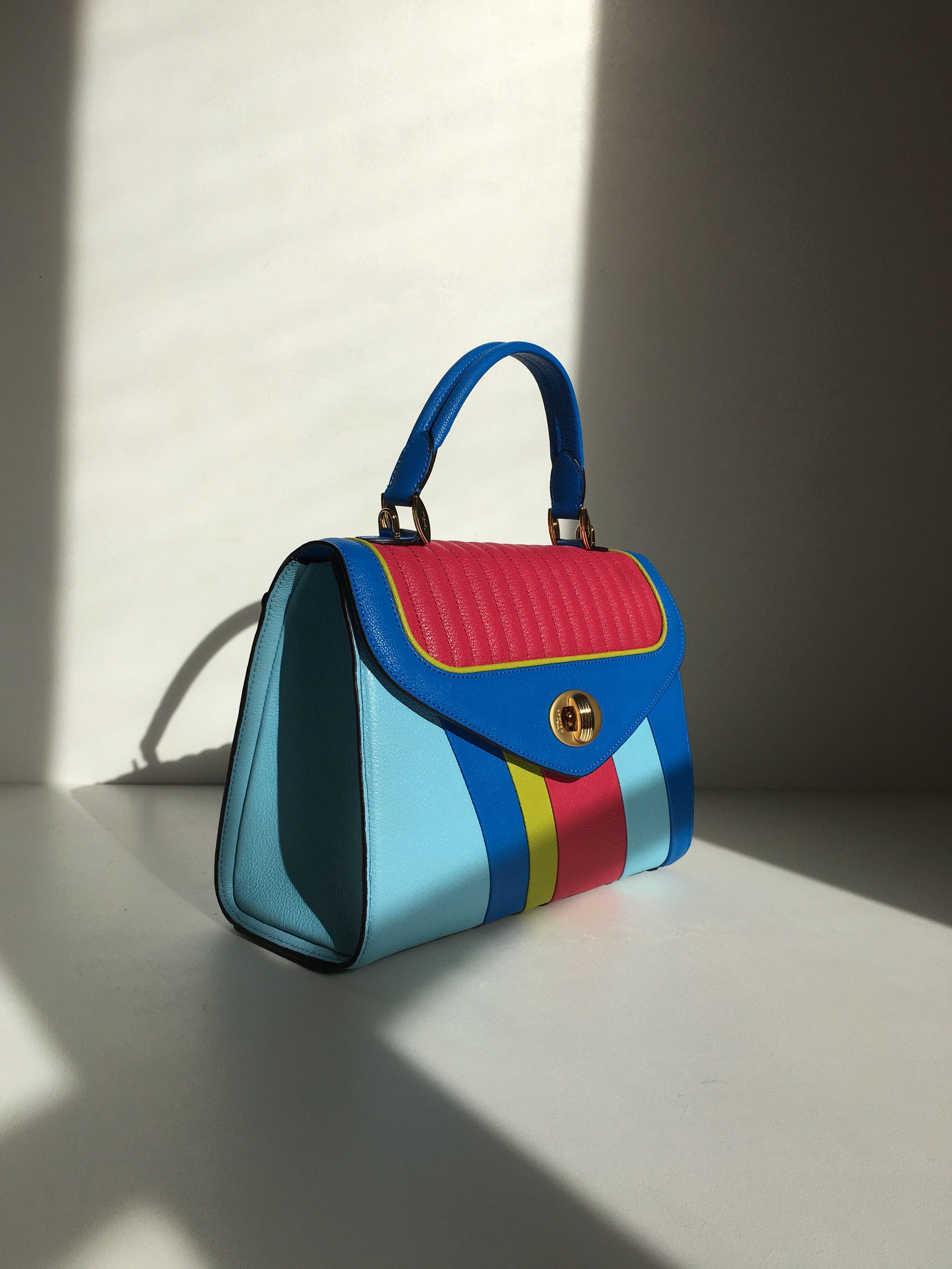 Freda Handbag Like A Rainbow Delage Paris Luxury