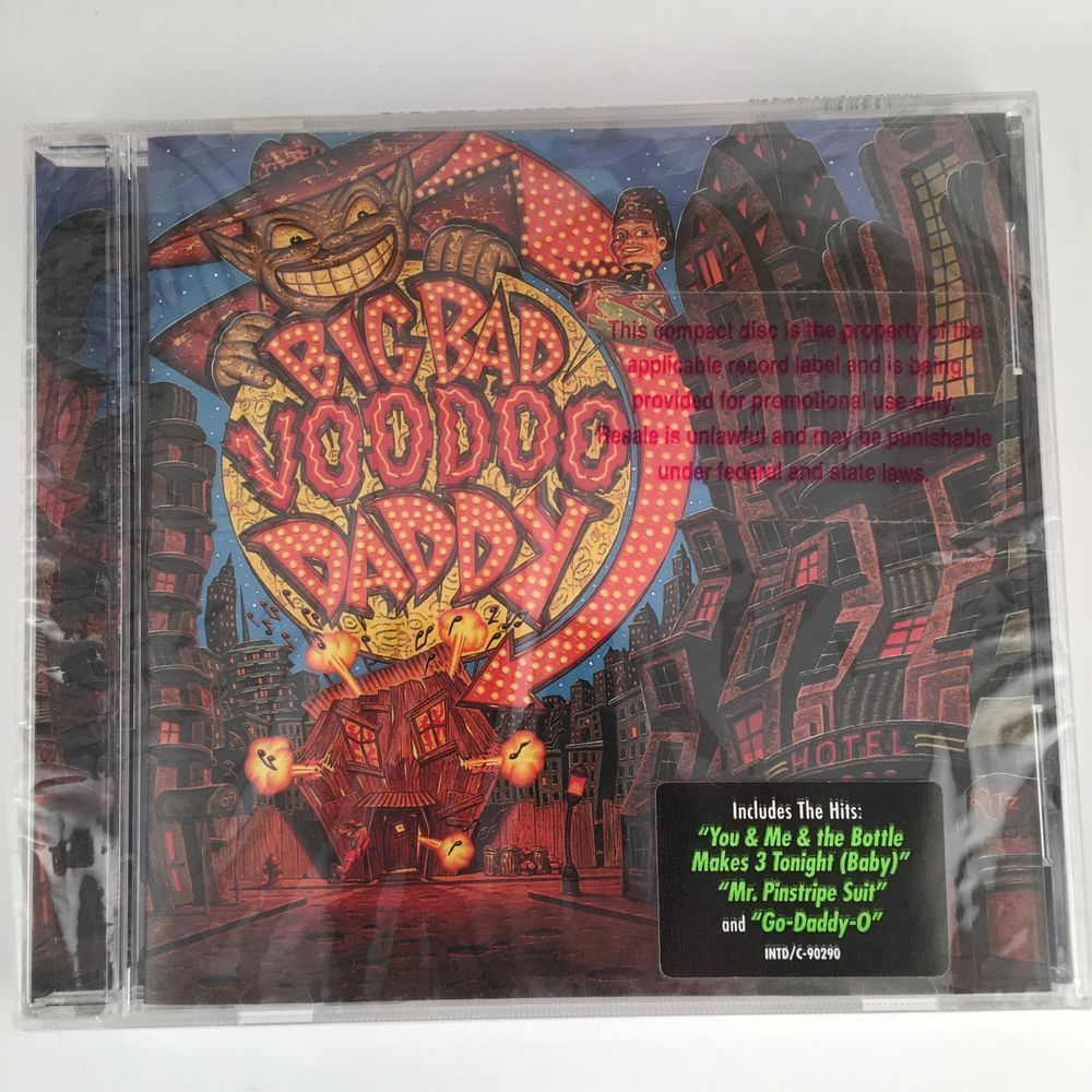 1998 Interscope Records Big Bad Voodoo Daddy Self Titled