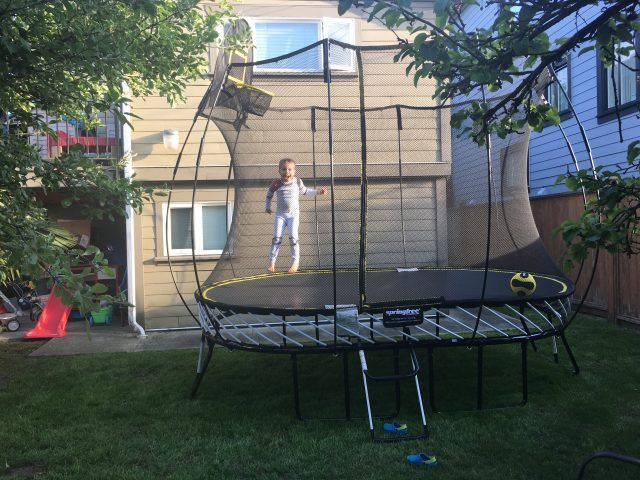 Reasons Why Jumping On A Trampoline Is Great Exercise Backyard Trampoline Best Trampoline Trampoline