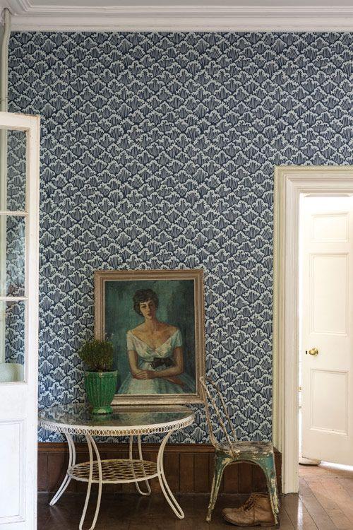 tapete aranami von farrow ball britisch englisch klassisch farrow ball tapeten. Black Bedroom Furniture Sets. Home Design Ideas