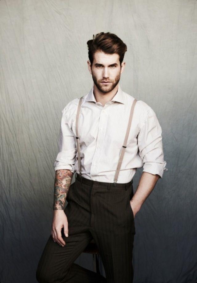 32 Suspenders Ideas for Men's Fashion | Hosenträger mode