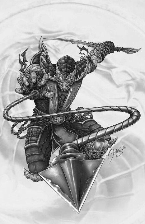 Scorpion Mortal Kombat Mk Cool Awesome Wallpaper Picture
