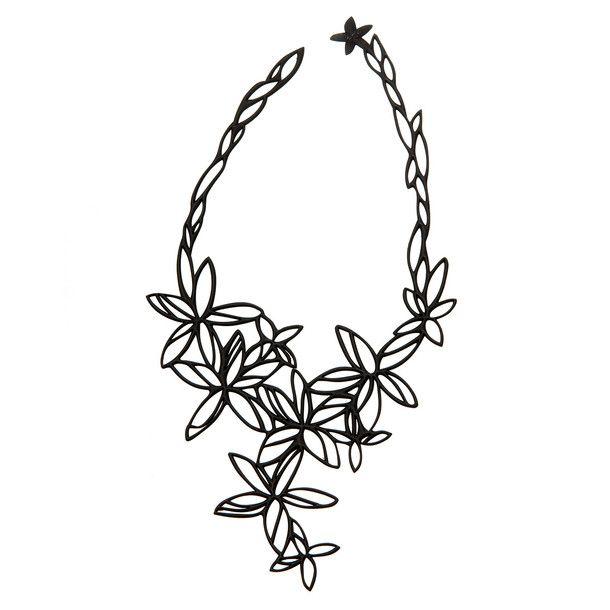 Halskette Hawaii Schwarz