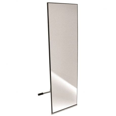 Espejo para probador plegable de dise o moderno espejo for A que altura colgar un espejo de cuerpo entero