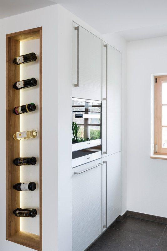 Pin by mrstaf on Interior Pinterest Kitchens, Space kitchen - küche mit weinkühlschrank