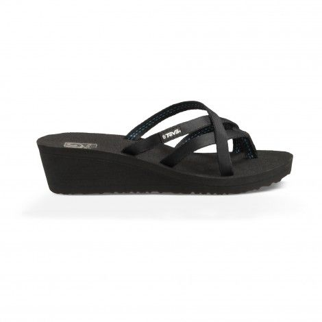de64a62a3f0efa Teva Mush Mandalyn Wedge Ola 2 slippers dames black