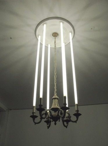 Trad Light with florescent lamp