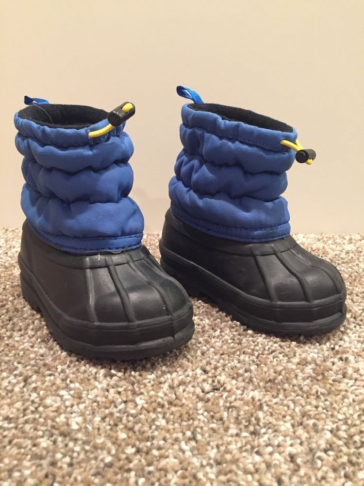 78fd28ceb35 Old Navy Snow Boots Size 5 Black-blue 6-12months #fashion #clothing ...