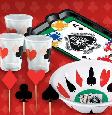 casino party ideas casino party supplies casino theme party party city - Casino Party Decorations