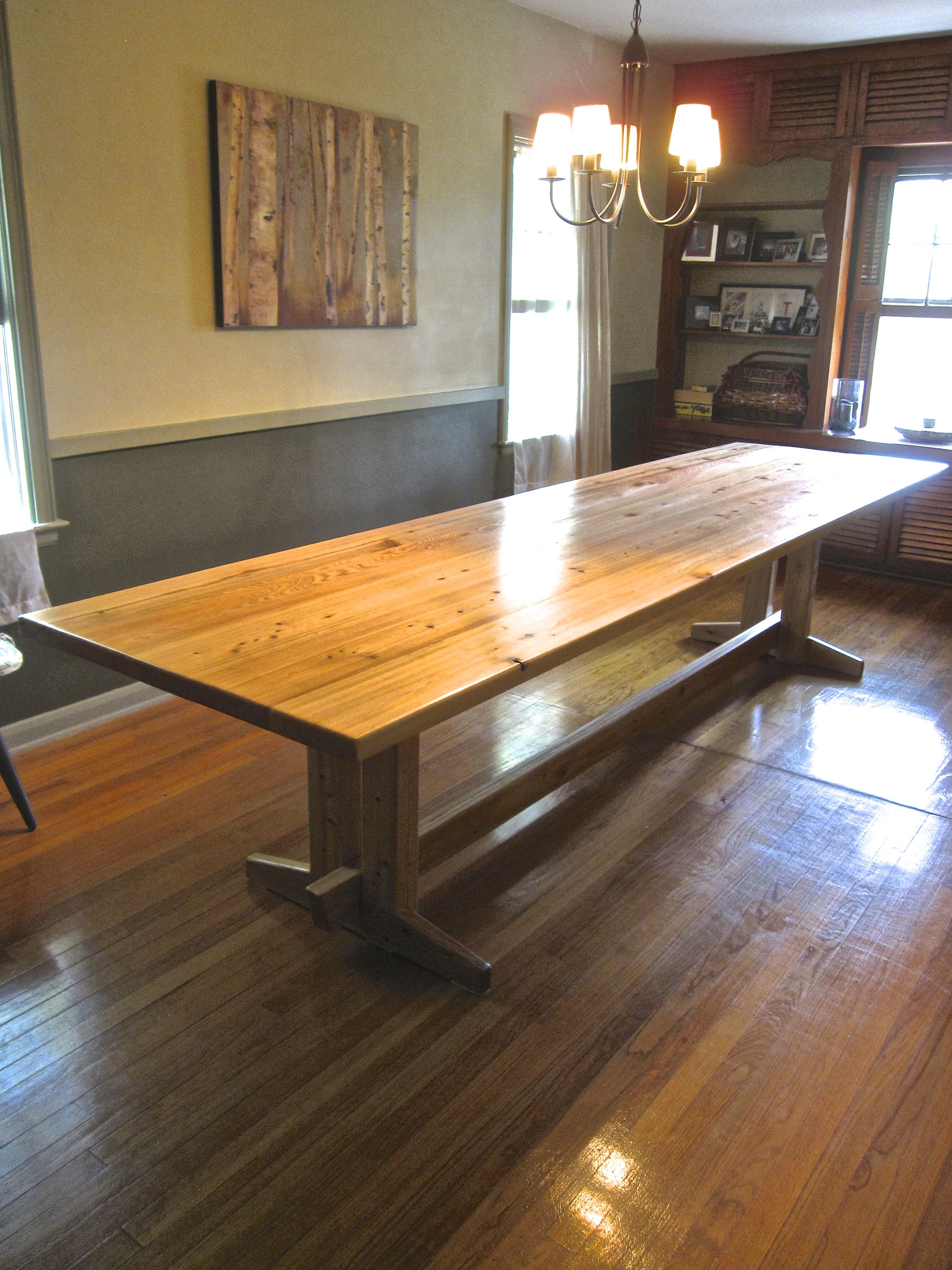 11 Ft Dining Room Table Cypress Table Dining Table Dining