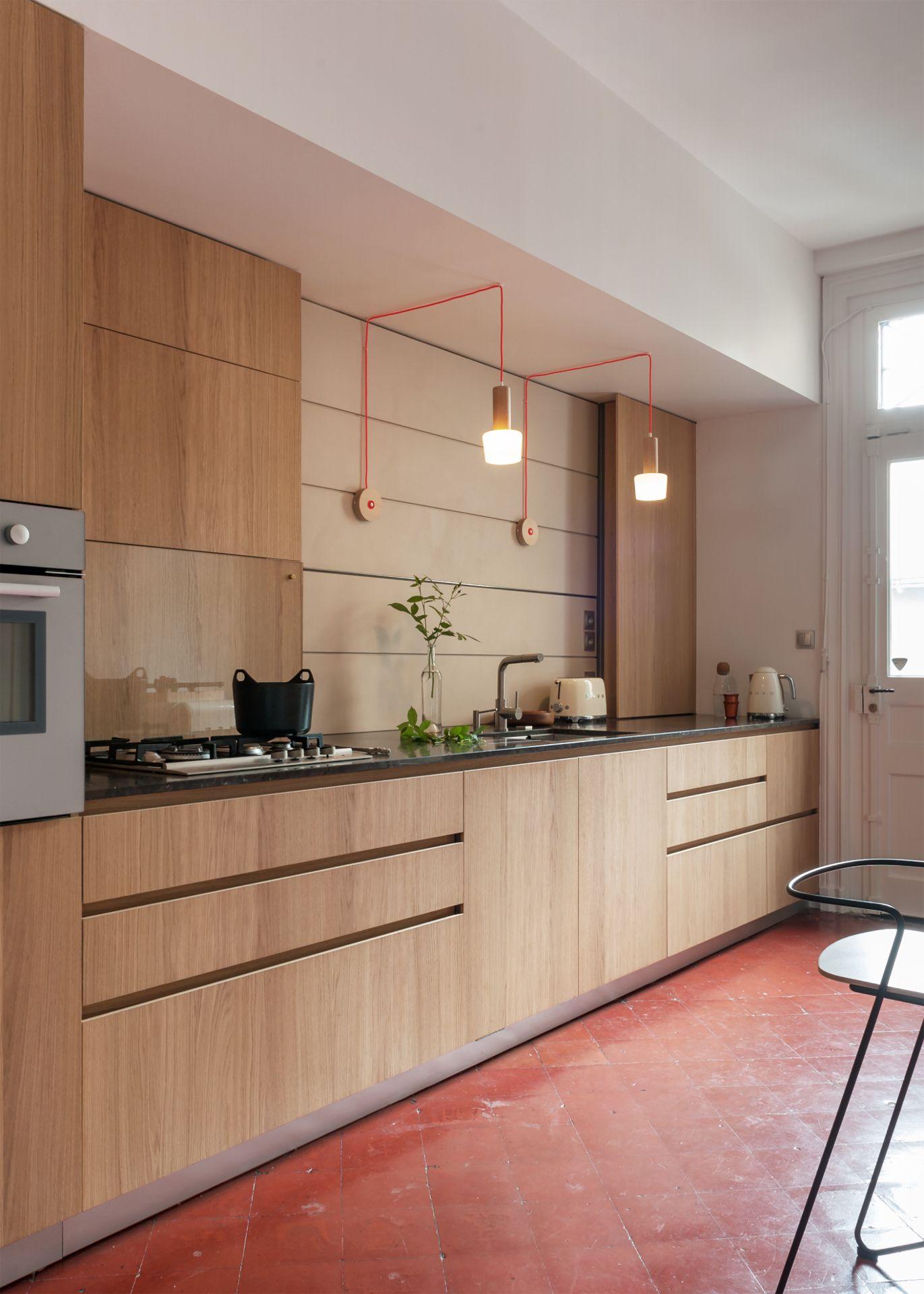 Cuisine Rue De La Bastille Nantes By Kopo Credit Photo Germain Herriau Fournisseur De Meuble Modulnova Luminaire Valerie Menue Home Room Divider Home Decor