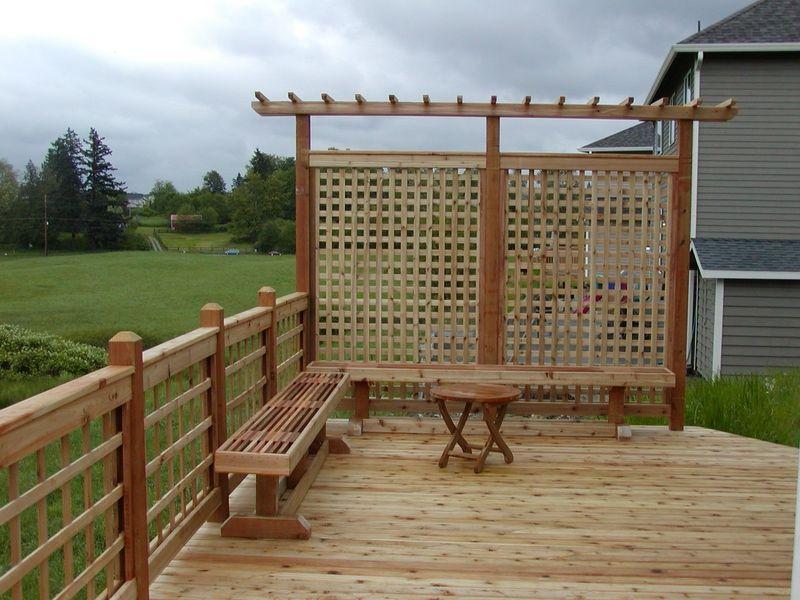 cedar privacy screens | Cedar privacy screen in Renton