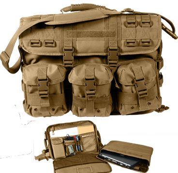 68de690a3a MOLLE Coyote Tactical Briefcase