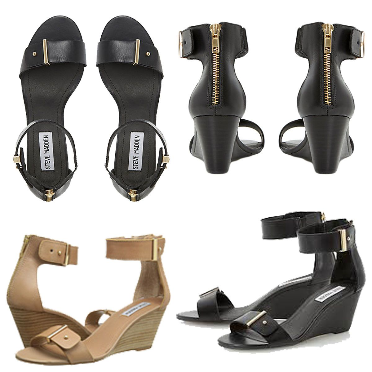 bfb6b839039 The Narissaa wedge sandal by Steve Madden provides endless style and  versatility.