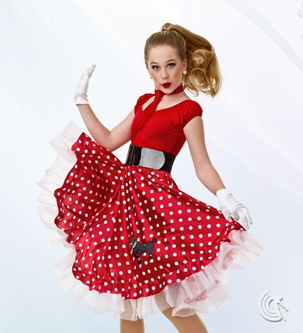 Curtain Call Costumes® , 50s Mania. Dance Recital CostumesTheatre  CostumesMusical