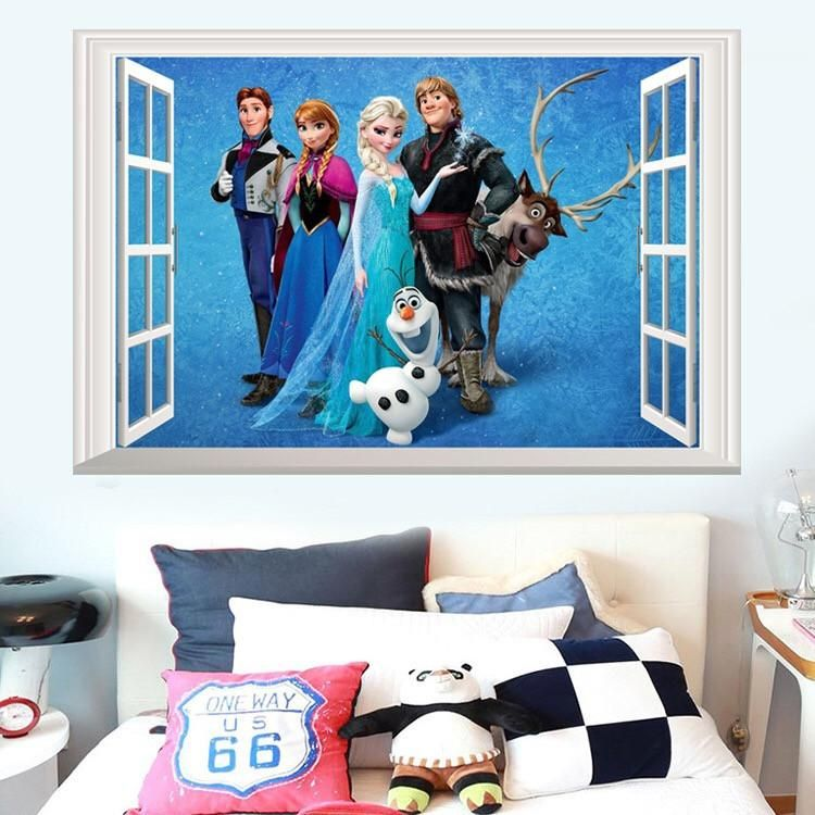 Find This Pin And More On Disney Frozen Wall Stickers By Thetreasurethrift.