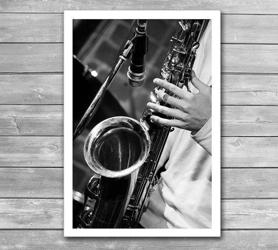 Jazz saxophone poster jazz jazz posters saxophone jazz music music prints