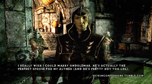 skyrim+ondolemar | really wish I could marry Ondolemar  He's