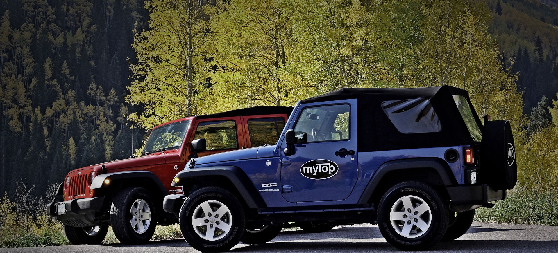 Mytop Is An All Electric Convertible Soft Top For The Jeep Wrangler And Unlimited World S First