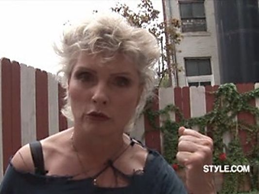 Debbie appearing on Style,com  2007
