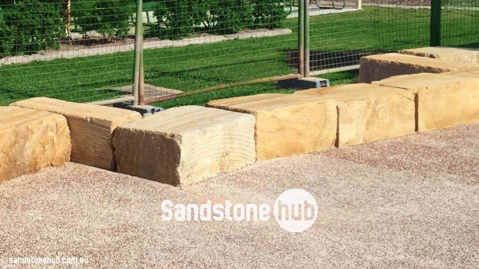Image result for sandstone block seat | Outdoor fire | Pinterest ...