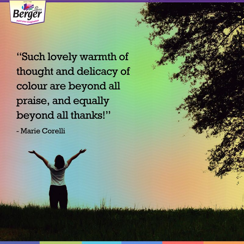 Colours contain positive energy, the energy of the sun. #Quotes ...