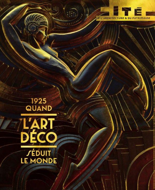 1925 quand l 39 art d co s duit le monde la cit de l. Black Bedroom Furniture Sets. Home Design Ideas
