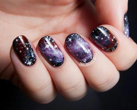 Image Via We Heart It Cool Nails Universe Swagg Nail