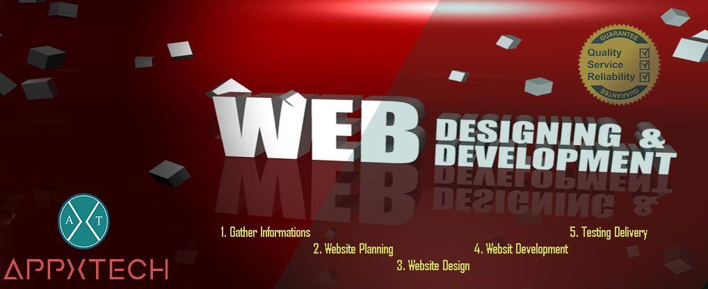 Top Web Designing Development Company Appxtech Web Development Design Web Development Website Planning