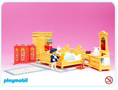 Archive 1989 5321A bedroom Playmobil, Playmobil figuren