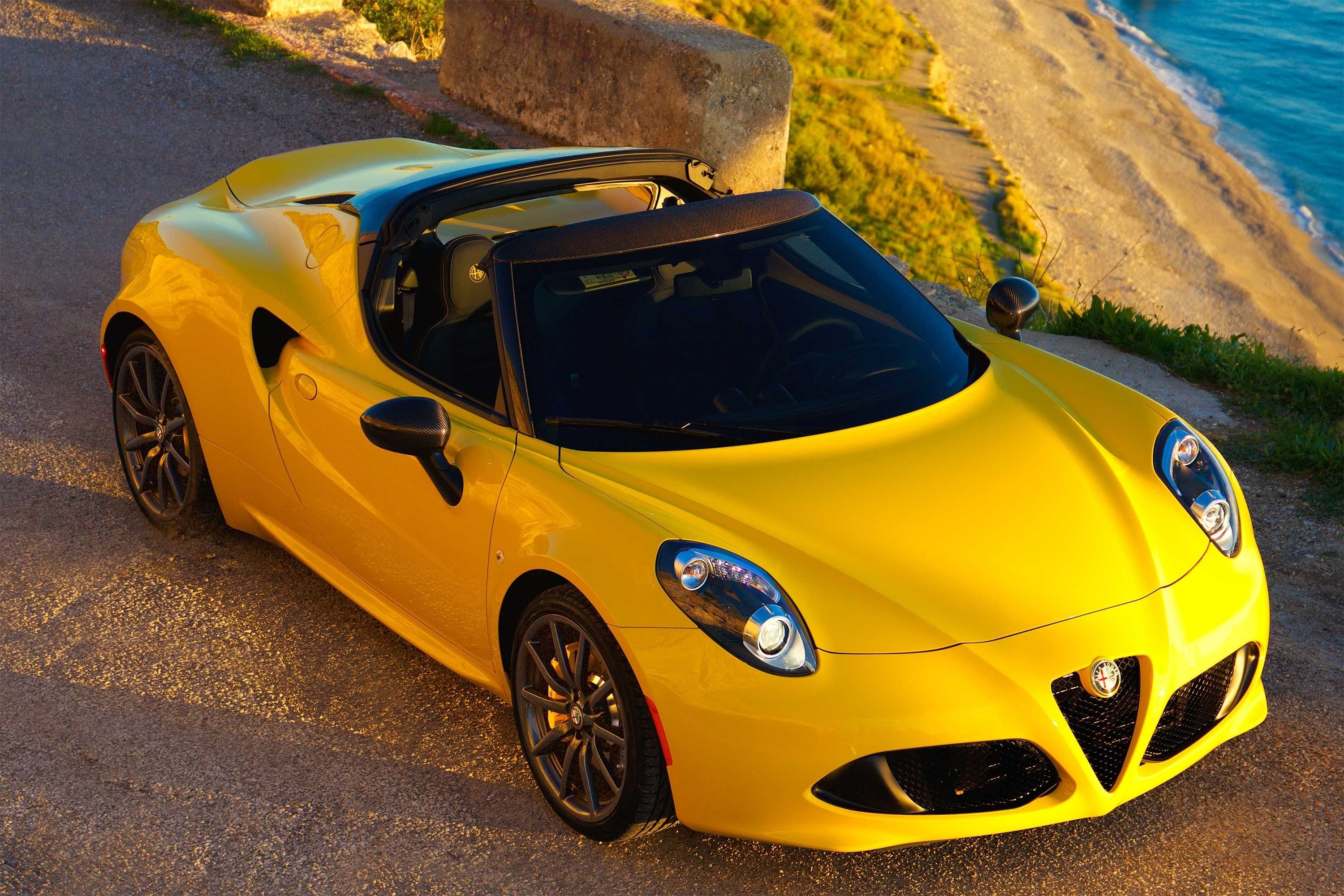 2015 Alfa Romeo 4C Spider TestDriveNow Preview by Auto Critic