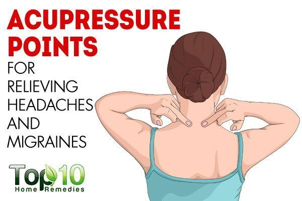 acupressure points for headache and migraine   Acupressure ...