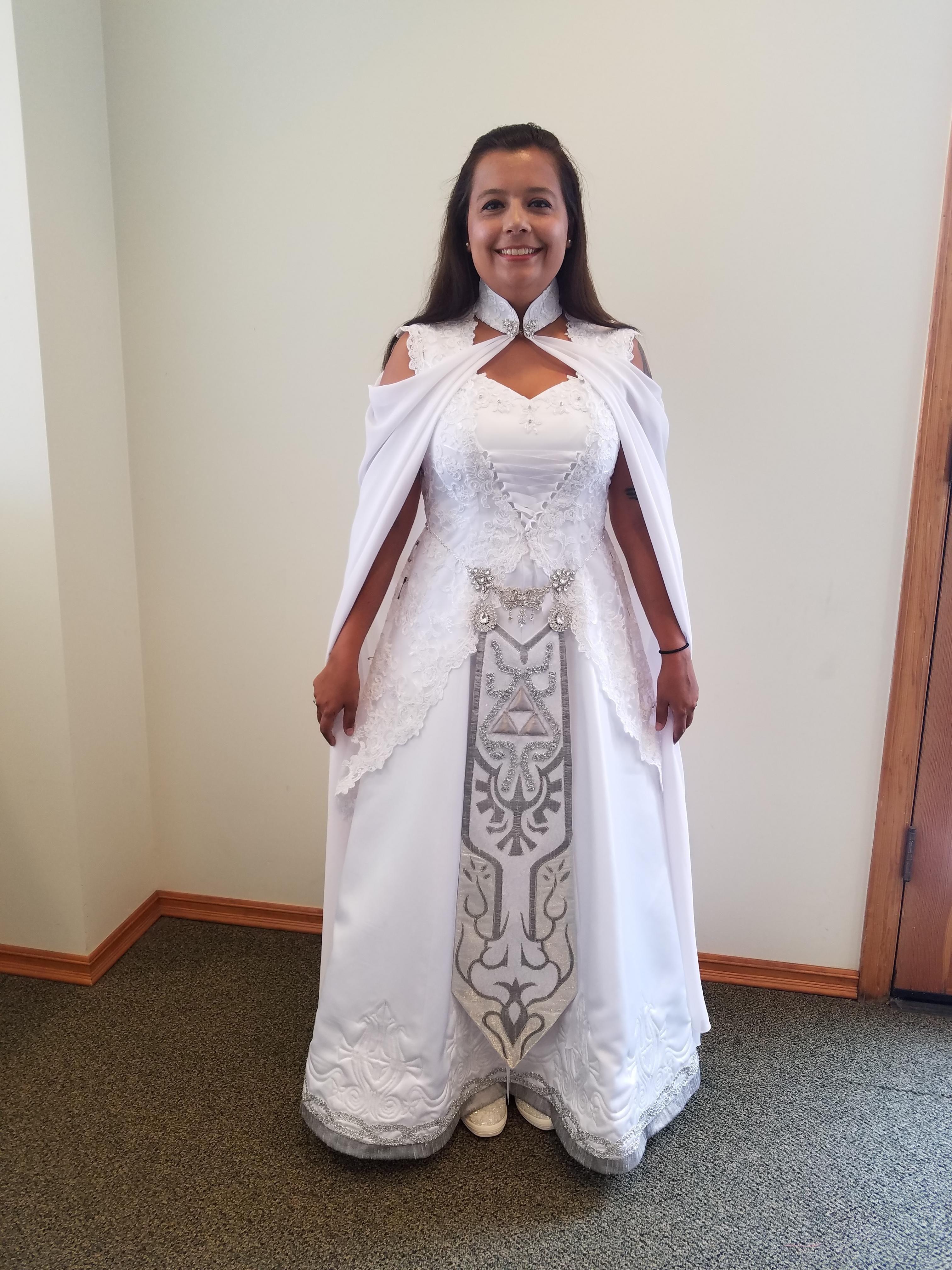 Zelda wedding dress  Legend of Zelda wedding dress  Gaming  Pinterest