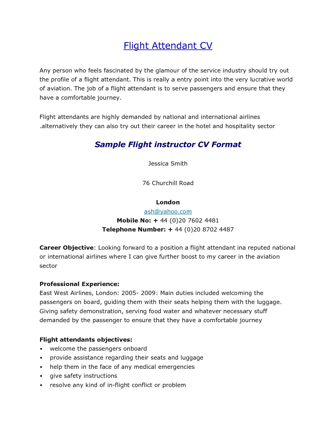 Emirates Cabin Crew Cover Letter Examples For Position With Experience