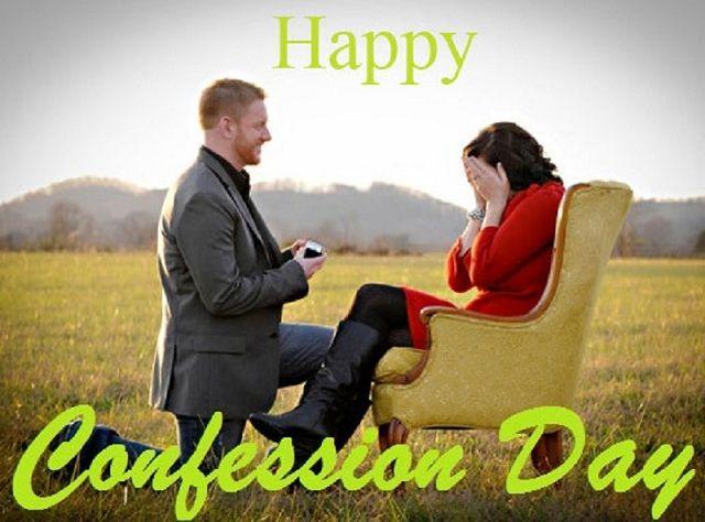 Confession Day WhatsApp Status, DP, Facebook, Instagram