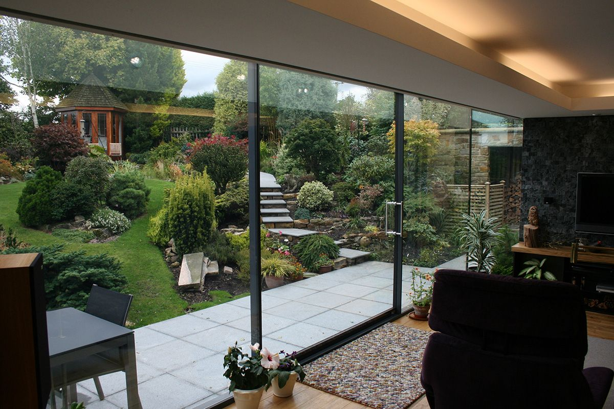 fineline aluminium sliding door & fineline aluminium sliding door | Oxfordshire Extension 1 ...