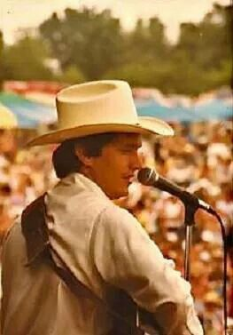 A Young George Strait