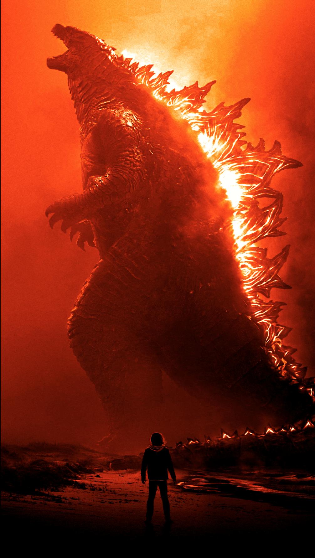 Wallpaper Godzilla