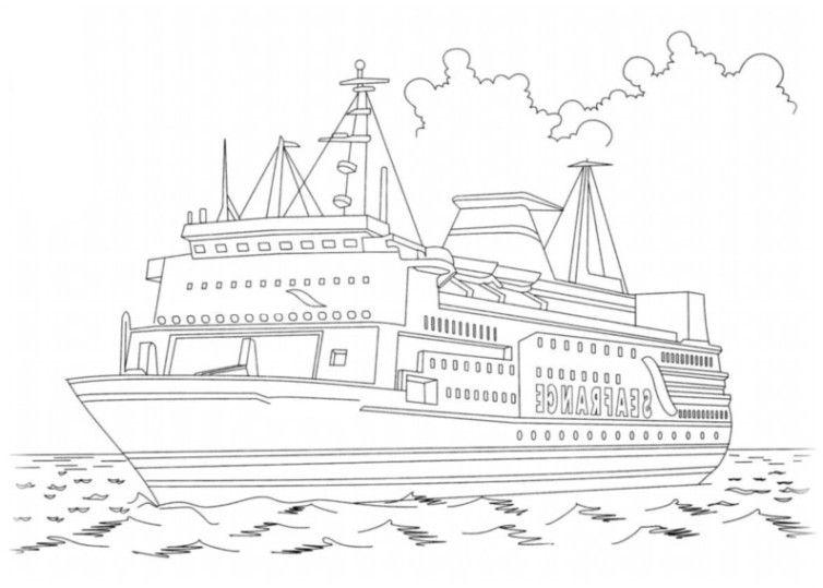 Schiffe 4 | coloring 5
