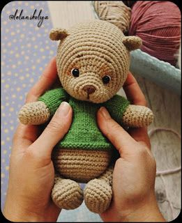 Samyelinin Örgüleri: Mini Bear Free Pattern #gratismønster