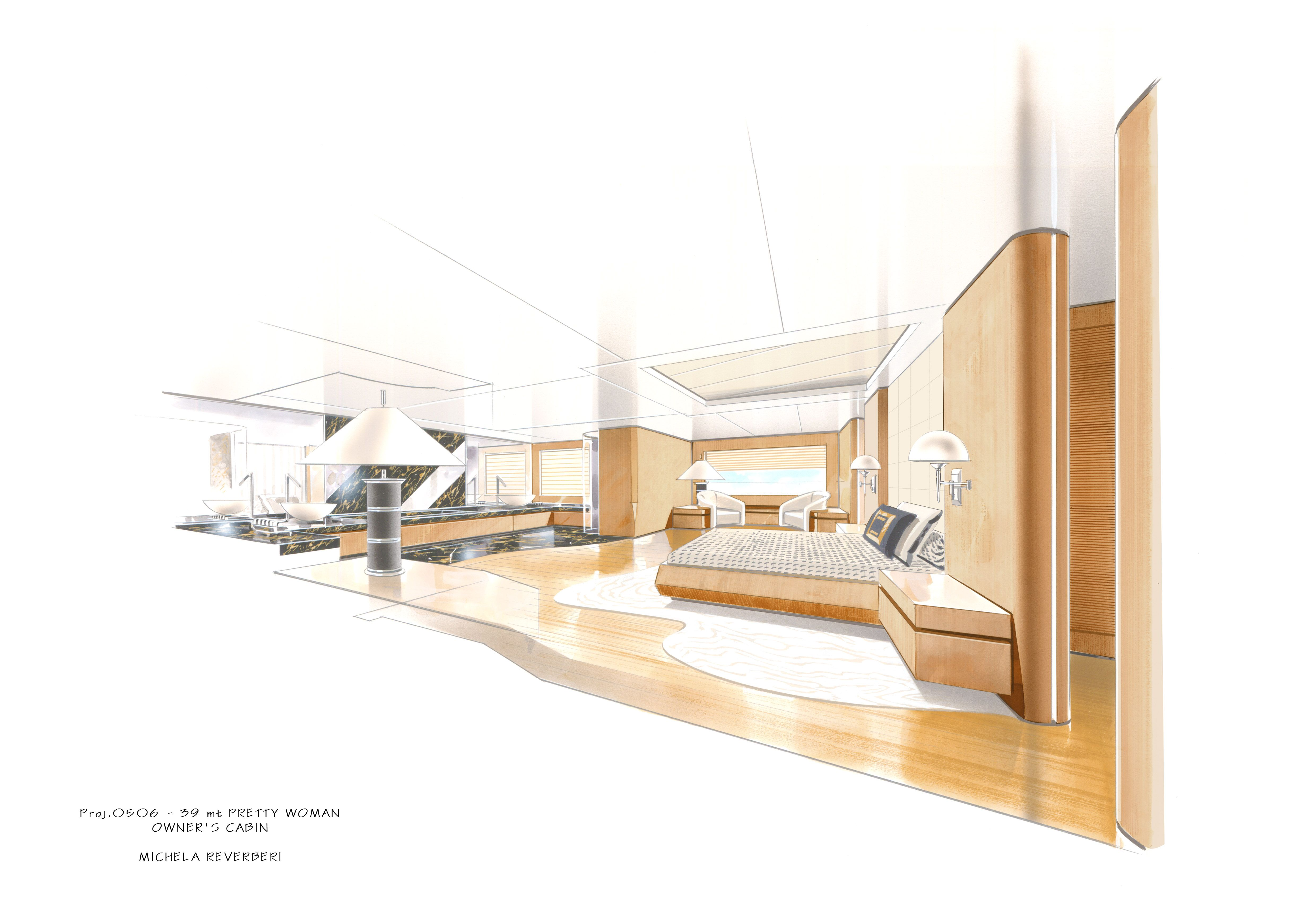 Boat Interior Design michela reverberi is an italian interior designer, well known for