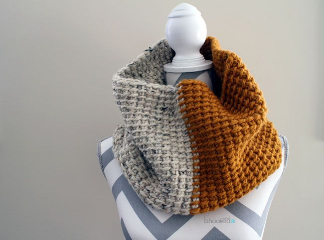Tunisian Crochet Super Cowl - Free Pattern | Ideas para negocios ...