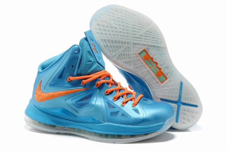 4432a5c9611 Lebron James 10 PS China Fire Lion Basketball Shoes