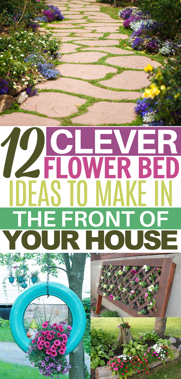 Photo of Here are the best flower bed ideas in front of house! Looking for an easy DIY pr…